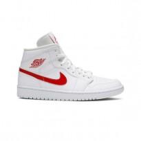 Air Jordan 1  high  Mid White University Red  REP1:1