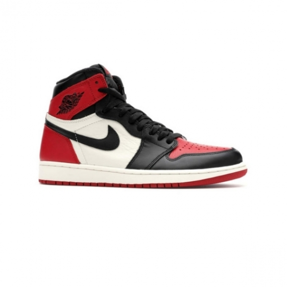 Giày Nike Air Jordan 1 Đỏ Trắng Đen Retro High Og Bred Toe