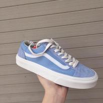 Giày Vans màu xanh Old Skool nước biển