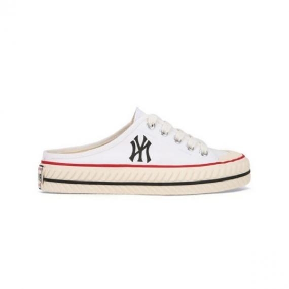 Giày MLB Playball Origin Mule New York Yankees White
