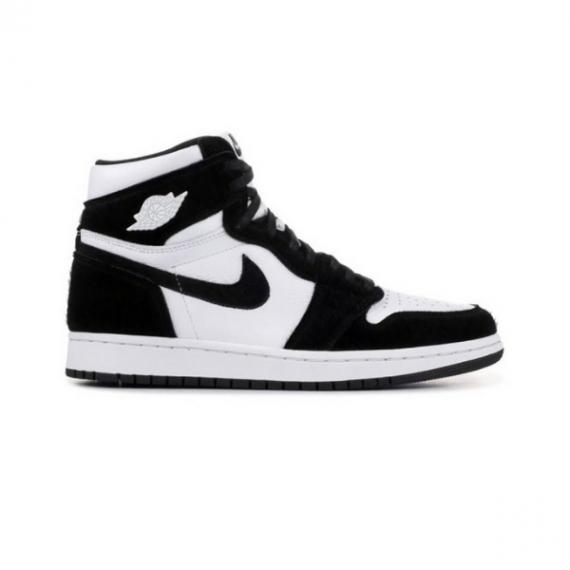 Giày Nike Air Jordan 1 Đen Trắng Retro High Black White (Bằng Nhung)