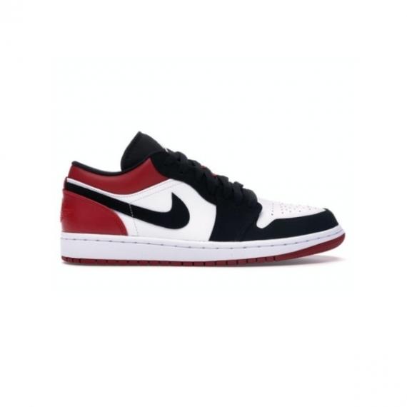 Giày Nike Air Jordan 1 Low Black Toe