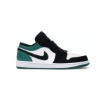 Giày Nike Air Jordan 1 Low White Black Mystic Green