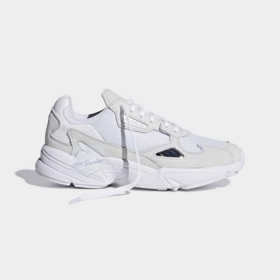 Giày Thể Thao  Adidas Falcon Trắng