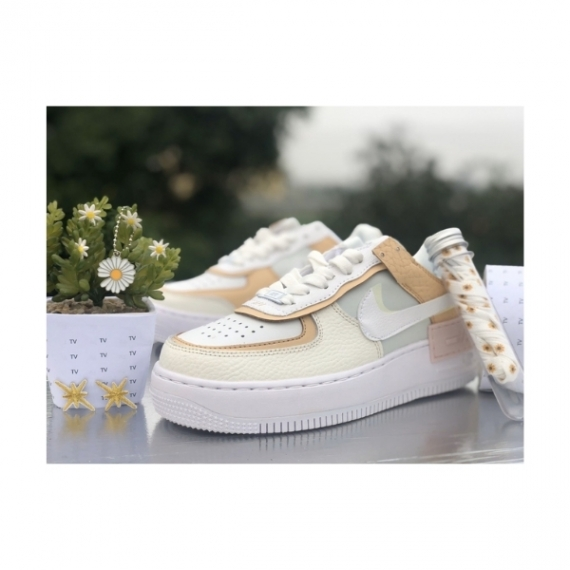GIÀY THỂ THAO NIKE AIR FORCE 1 SHADOW  SE  SPRUCE AURA REP1:1