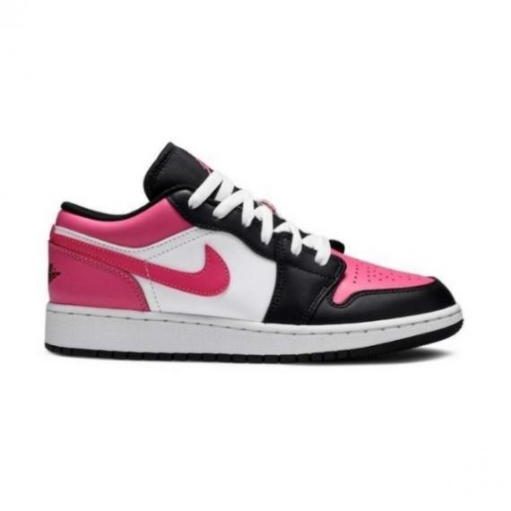 Jordan 1 Low Black Pink Nike Hồng Trắng