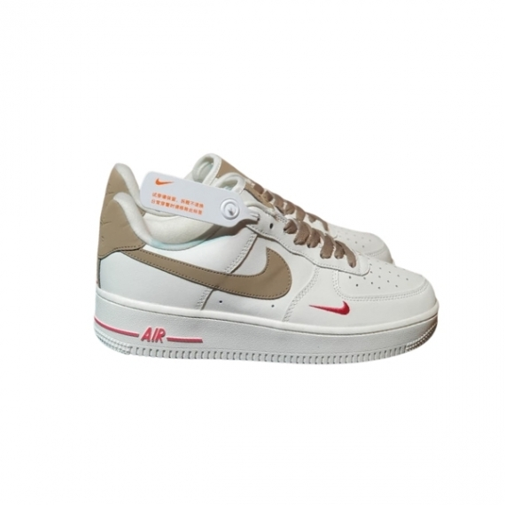Nike Air Force 1 Trắng Viền Gold Like Auth
