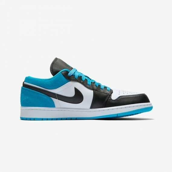 Nike xanh  Air Jordan 1 Low Laser Blue
