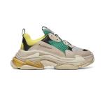 Sneaker Balenciaga Triple S Vàng Cam