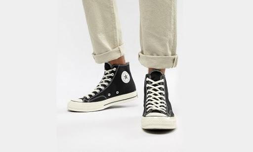 Giày Converse cổ cao dễ mix đồ