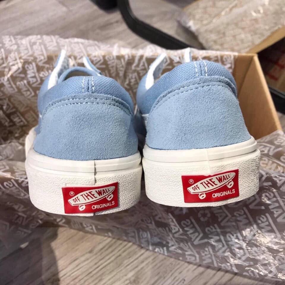 Gót giày Vans màu xanh nước biển